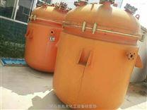 二手5吨搪瓷反应釜外夹套加热搪瓷完好出售
