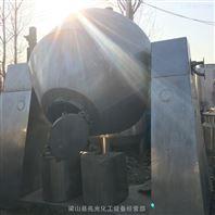 处理二手1吨2吨搪瓷双锥回转真空干燥器