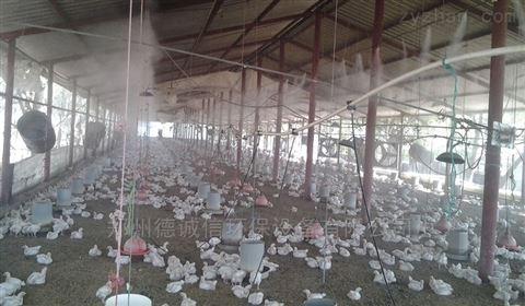 養雞廠空氣噴霧除臭設備