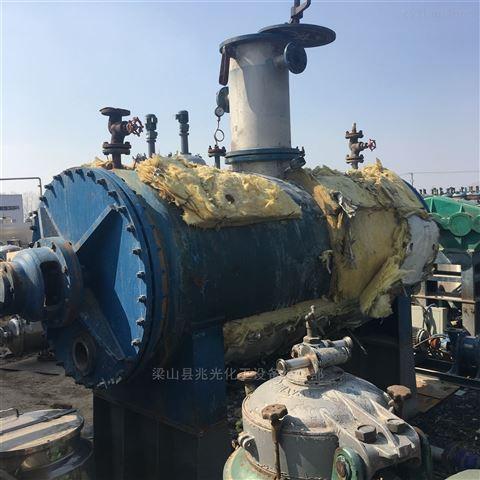 二手不锈钢2吨3吨真空耙式干燥机蒸汽加热