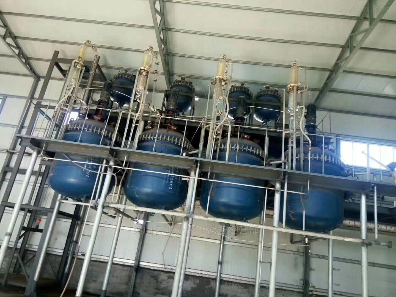 有售二手3000升开式蒸汽加热搪瓷反应釜