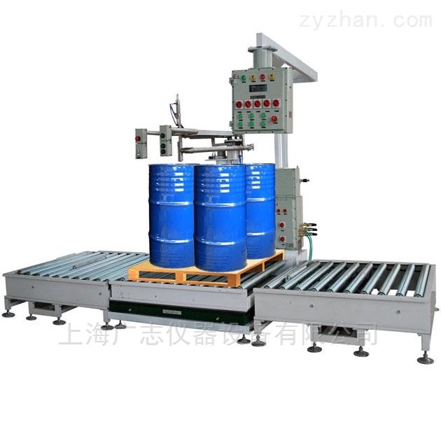 200升自动灌装机-兼容200L托盘四桶/IBC桶自动灌装机