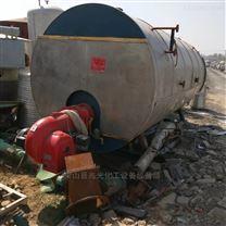 轉讓二手臥式4噸燃氣蒸汽鍋爐手續附件全