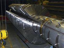 大型污泥双轴桨叶干化机