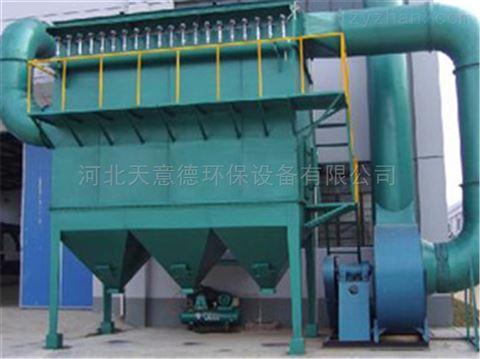玻璃厂常用布袋除尘器除尘原理