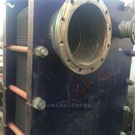 二手120平方不锈钢板式换热器热交换器转让