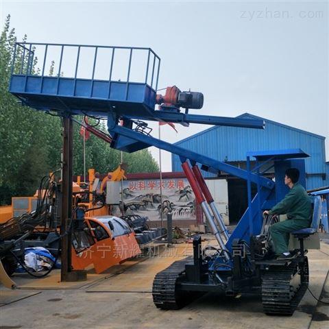 液压锚杆钻机履带式锚固钻机性能稳定