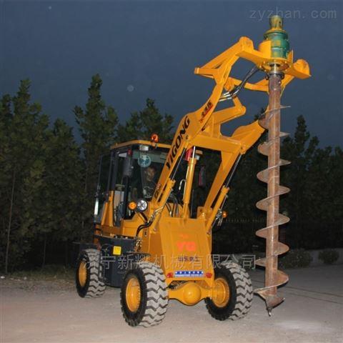 电线杆打桩机生产设备 装载式桩机技术参数