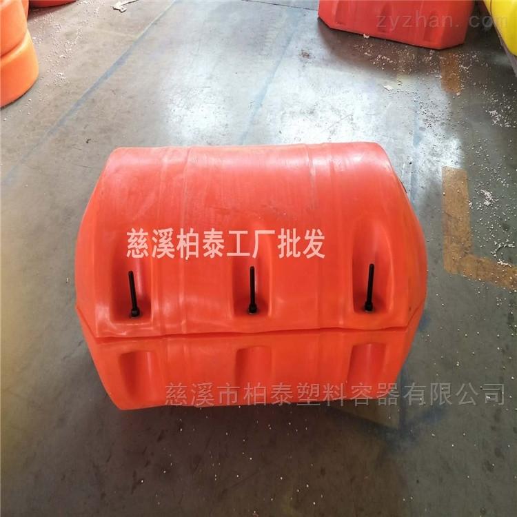 600*1000组合式拦浮筒拦污工程浮体定做