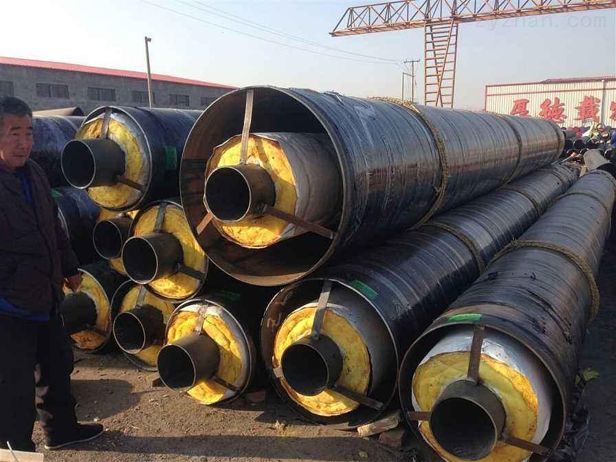 莆田179氰聚塑直埋保温钢管/预制保温管价格