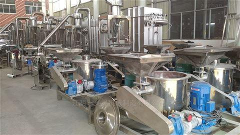 厂家直供WFJ-瓜蒌皮瓜蒌子中药材超微粉碎机