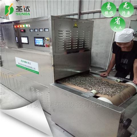 五谷杂粮熟化机厂家 微波杂粮烘培设备