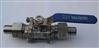 外螺纹带焊接管两片式球阀Q21F-16P