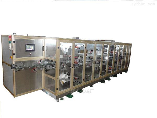 高速平压敷料贴制造机