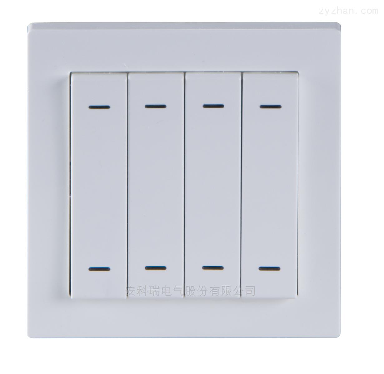 ASL100-F4/8-安科瑞智能照明控制系统智能面板 4联8键