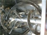 螺带混合机的内部