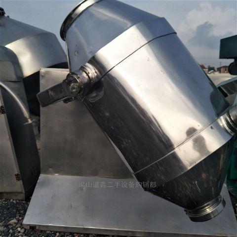 转让二手不锈钢材质600L三维混合机
