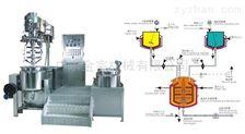 专业药品多功能室验实膏霜乳化机生产线设备
