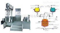專業藥品多功能室驗實膏霜乳化機生產線設備