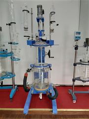 YSF(EX)-80L防爆双层玻璃反应釜选专业厂家巩义予华
