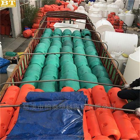 大型水上拦污浮体,南阳水库警示浮体厂家