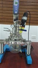 Reactor-5L实验室均质乳化反应器体积小噪音低