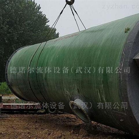 陕西一体化智能泵站厂家 GRP 污水