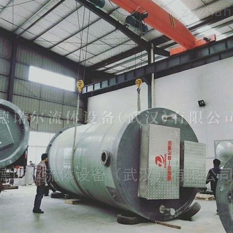 四川一体化预制泵站 玻璃钢 大排量