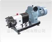 不锈钢曲线型转子泵应用