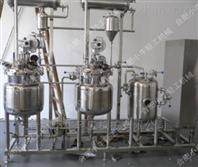 实验型中草药液提取浓缩机组