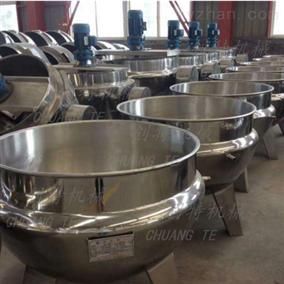 CT-J1000L不锈钢夹层锅