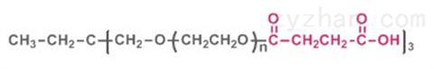 三臂聚乙二醇琥珀酸(酯键),3-arm PEG-SA