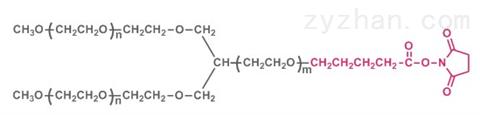 Y型聚乙二醇琥珀酰亚胺戊酸酯