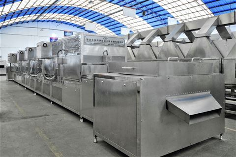 食品微波殺菌小型設備食品機械