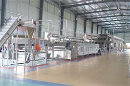 网带式蒸汽加热烘干机干燥能耗低