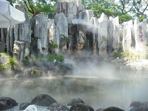 公园假山人造雾设备