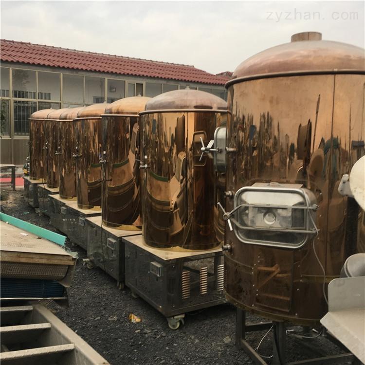 二手500升不锈钢精酿啤酒设备 精工自酿
