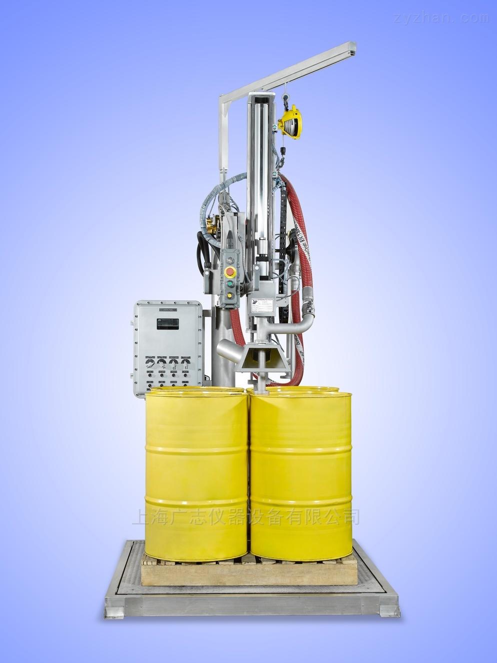 自动灌桶机-200L*4/IBC桶自动灌装线