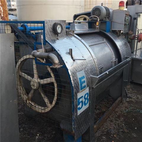 二手250/200公斤工业洗衣机 卧式洗脱机