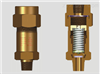 铜质冷冻机安全阀SFA-22C300T2