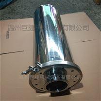 不锈钢卫生级快装式4芯空气呼吸器