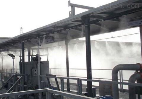 高压微雾加湿设备 喷雾降尘系统效果显著