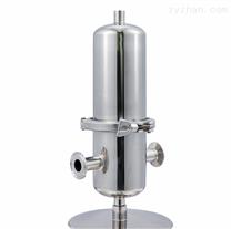 不锈钢单芯空气除菌过滤器
