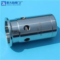 不锈钢卡式呼吸阀 卫生级快装蒸汽排气阀