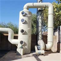 厂家生产10000风量PP喷淋废气酸雾净化塔