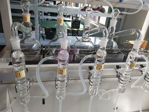 全自动氨氮蒸馏装置CYZL-6一体式智能蒸馏仪