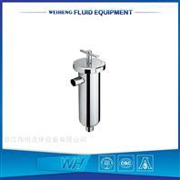 衛生級不銹鋼直通管道過濾器