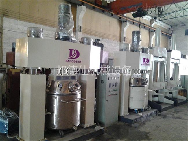 供应5000升强力分散机 中性耐候胶生产设备