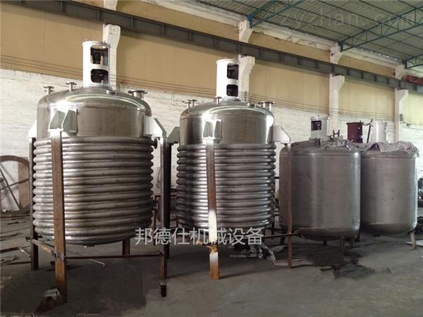广东蒸汽加热反应釜 佛山糯米胶生产设备