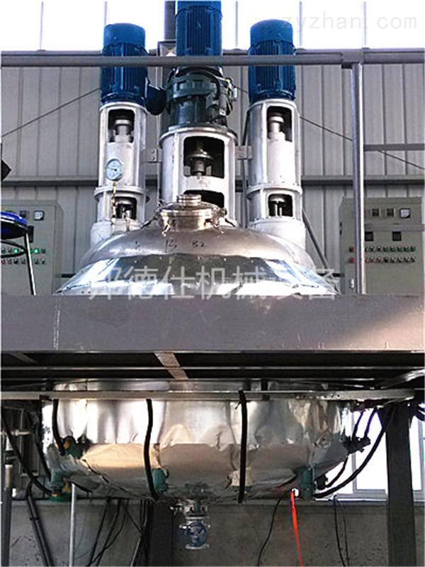 供应广东多功能分散反应釜 压敏胶生产设备